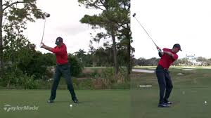 Tiger Woods Slow Mo Driver Swing