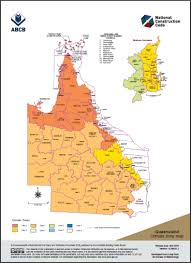 Climate Zone Map Queensland Australian Building Codes Board