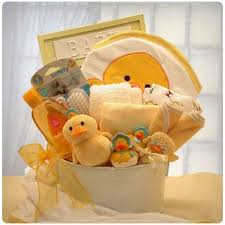 new baby bathtub gift basket