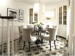white round breakfast table dining with 4 oatmeal chairs nook set