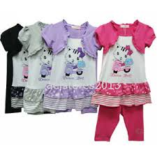 Hello Kitty Size Chart Details About Girls Leggings Set 2 3pc Top Hello Kitty Age 2 10 Years Summer Dress Pink