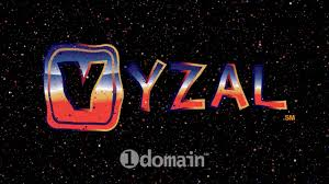 vyzal 5 letter premium domain name logo from 1domain