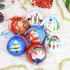 Großhandel 7cm Schaum Gehobene Weihnachtskugeln Indische Malerei Bemalt Christbaumschmuck Weihnachtskugeln Bemalt Von Jewelry520wholesale 2111 Auf
