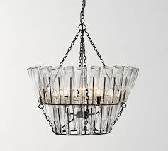 french bottle chandelier pottery barn