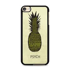 Psych Pineapple Quotes Ipod Touch 6 Case