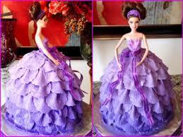 Barbie Doll Fondant Dress Cake Slide Show Youtube