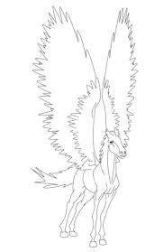 Pegasus Coloring Page Free Printable Coloring Pages