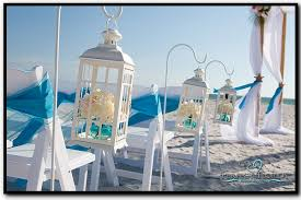 Beach Wedding Accessories Decorations little lantern love please Simple but elegant beach wedding decor 23