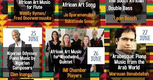Planet Hugill: The African Concert Series - On line edition