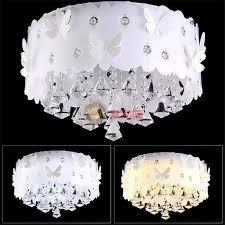 new modern crystal erfly pendant light led lamp ceiling chandelier lighting