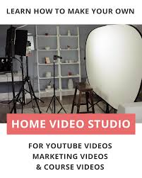 Diy Lighting For Video Production Let Me Show You My Diy Youtube Studio Setup At Home In This