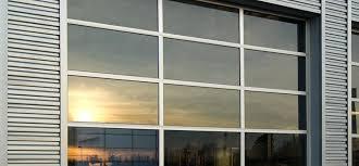 full view door for maximum visibility commercial garage glass overhead doors aluminium s in south