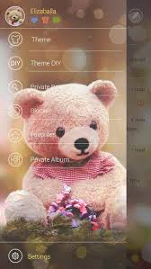 free go sms pro bear theme 1mobile com