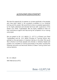 12+ Acknowledgement For Reports |