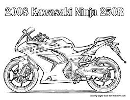 coloring pages bikes. Modren Coloring Free Coloring Pages For Boys  Motorcycle Coloring Book Pages Street Bikes  Free  For I