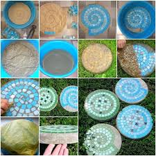 mosaic stepping stones stained glass mosaic stepping stone patterns