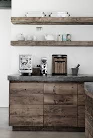 amazing rustic stile open kitchen shelving design