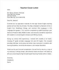 sample cover letter elementary teacher teaching resume cover letter foodcity me