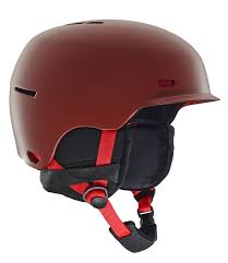 Snowboard Helmet Sizing Chart Red Anon Highwire Red Mens 2019 Snowboard Helmet