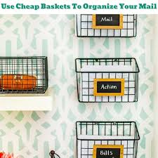 home office organizing ideas. Home Office Organization - How To Organize Bills And Mail Getting Organized 50+ Easy DIY Ideas Help Get #getorganized Organizing