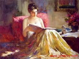 oil paintings impression lady on canvas hd 007 jenerro china