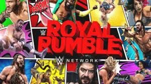 CARTELERA WWE ROYAL RUMBLE 2021