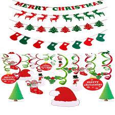 Christmas Swirls Amazon Com Christmas Hanging Swirl Decoration Christmas
