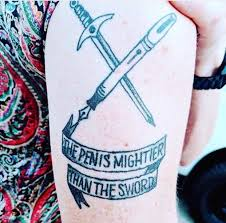The Penis Mightier Than The Sword Crappydesign