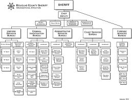 Dmv Organizational Chart Organizational Chart Douglas County Sheriff