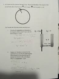 physics archive 23 2017 chegg com 3 a current travels clockwise through a loop sketch the direction of