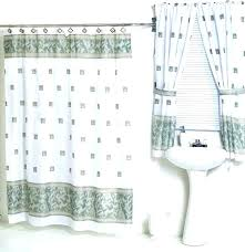 curtains with valance and tiebacks likeable fabric shower curtains with valances curtain valance and tiebacks curtains