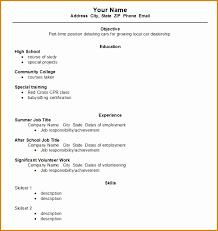 8 Cv Template Student First Job Besttemplates Besttemplates