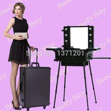 to singapore msia and other asia countries aluminum makeup table studio with mirror