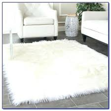 s fur throw rug white kmart being faux area rugs