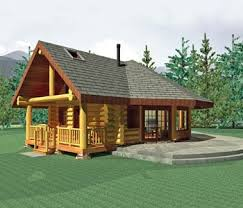 Small Log Homes Design Contest  5 Aspen Meadow By Summit Small Log Home Designs