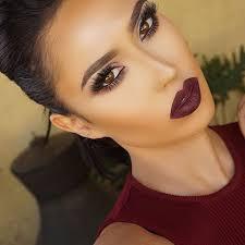 25 best ideas about plum lipstick makeup on wine red lipstick fall smokey