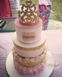 Royal Princess Baby Shower Cake Cakecentralcom