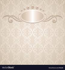 Wedding Background Royalty Free Vector Image Vectorstock
