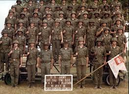Us Army Platoon Fort Gordon Ga 1981 Fort Gordon B 4 1 1st Platoon The
