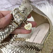 Stuart Weitzman Shoes   Stuart Weitzman New Akilah Sparkle Wedge Sandal    Poshmark