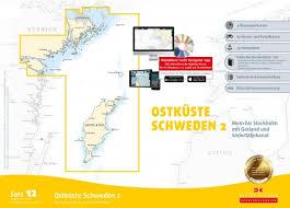Swedish Charts Delius Klasing Paper Chart Set 12 Baltic Sea Sweden Mem