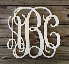 painted wooden monogram wooden initials wedding gift housewarming gift personalized gift nursery monogram monogram wall hanging