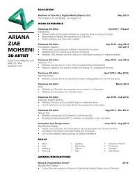 Hybrid Resume Templates Examples Stunninger Template Free
