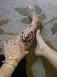 Dream Catcher Foot Tattoo dreamcatcher henna tattoo design Tattoo Love 84