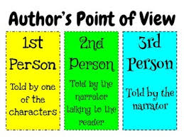 Author S Point Of View Anchor Chart Authors Point Of View Anchor Chart