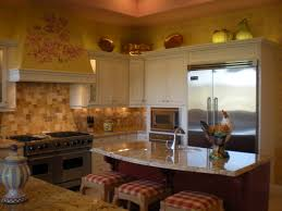 Wallpaper Designs For Kitchens Kitchen Design Of French Country Kitchen Wallpaper Ideas Square