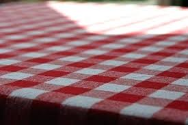 red gingham tablecloth square cotton premium quality white checd vinyl round red gingham tablecloth