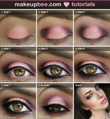 when can u wear makeup pink eye makeup