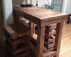 diy high top bar table