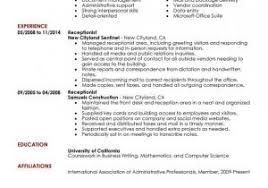 Receptionist Resume Objective From As400 Resume Samples Fresh